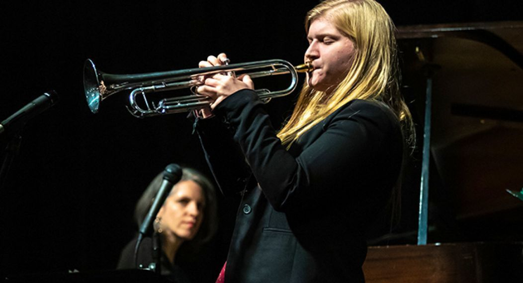Jazz trumpet, Kate Williams